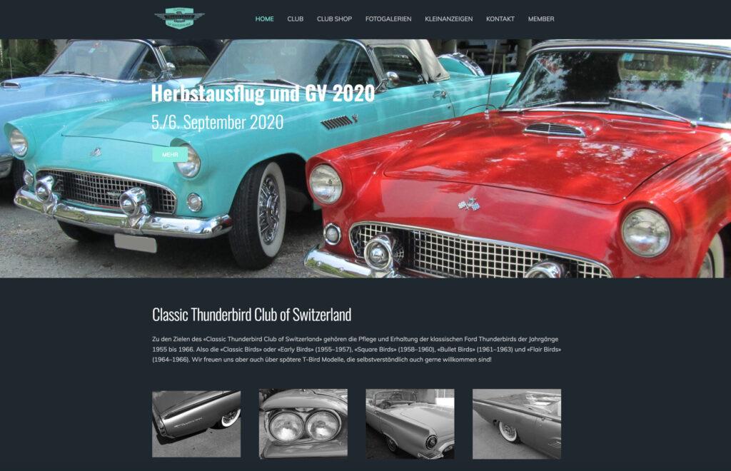 Referenzbild Website Thunderbird